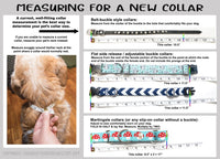 Choose-a-Fabric Breakaway Cat Collar - Extra Wide - Fox Valley Dog Collars