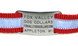 Stainless Steel Jingle-Free Pet ID Tag - by Boomerang - Fox Valley Dog Collars