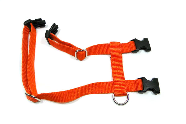 "Solid Color ""Big Kitty"" / Giant Bunny / Cat / H-Style Harness - Fox Valley Dog Collars"