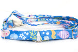 Under the Sea metallic No Pull Harness, front attach, XL - Fox Valley Dog Collars