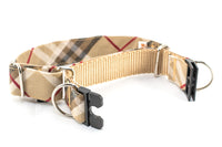 Choose-a-Fabric SEMI-BREAKAWAY Martingale Dog Collar - Fox Valley Dog Collars