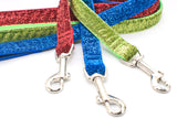"Sparkle & Bling Leashes - 3/4"" wide, any length, 14 colors - Fox Valley Dog Collars"