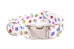 Birdhouses adjustable dog collar, medium