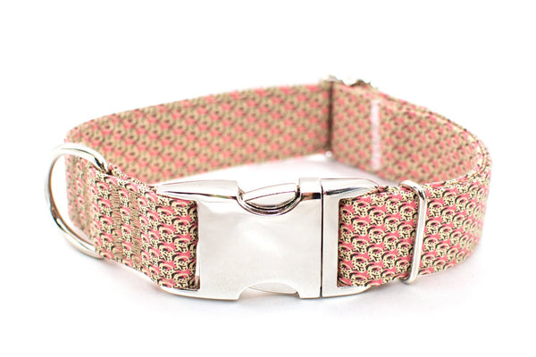 Dizzy - adjustable dog collar, medium - Fox Valley Dog Collars