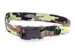Army Camouflage Adjustable Dog Collar - Fox Valley Dog Collars