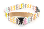 Choose-a-Fabric SEMI-BREAKAWAY Quick Release Martingale Dog Collar - Fox Valley Dog Collars