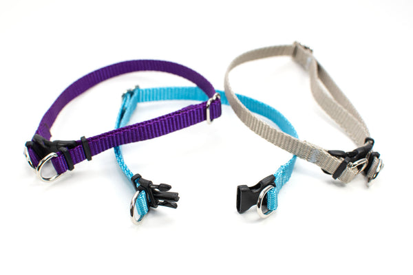 "3/8"" Solid Color BreakAway Dog Collar - 15 colors"