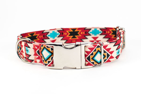 Tribal Sunrise Adjustable Dog Collar - Fox Valley Dog Collars