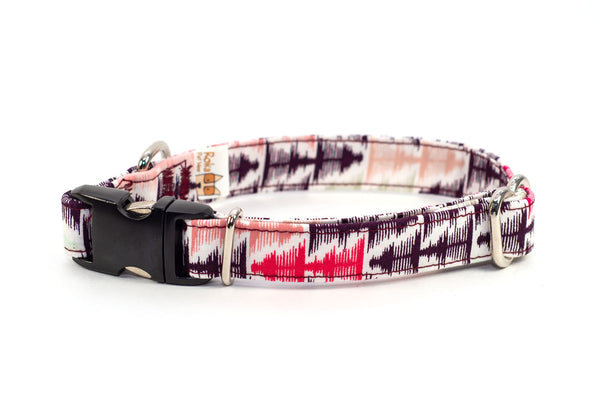 Sound Waves adjustable dog collar, small - Fox Valley Dog Collars