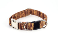 Woodgrain Breakaway Dog Collar, 2 sizes