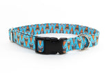 Frenchie Delight Adjustable Dog Collar
