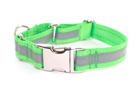 Reflective Quick Release Martingale Dog Collar
