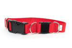Red Breakaway Collars - 2 sizes - Fox Valley Dog Collars