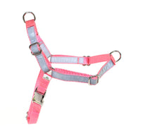 Reflective Dual-Attach No Pull Harness - M - Light pink - Fox Valley Dog Collars