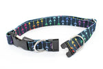 BREAKAWAY Personalized Rainbow Arrows Patterned Webbing Dog Collar