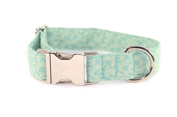 Vines & Leaves Adjustable Dog Collar - Fox Valley Dog Collars