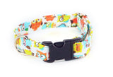 Hooty Hoot Owls Adjustable Dog Collar - Fox Valley Dog Collars