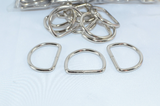 1lb bulk Light Weight D Rings, Collar Rings, D-rings, bulk - CLEARANCE - Fox Valley Dog Collars