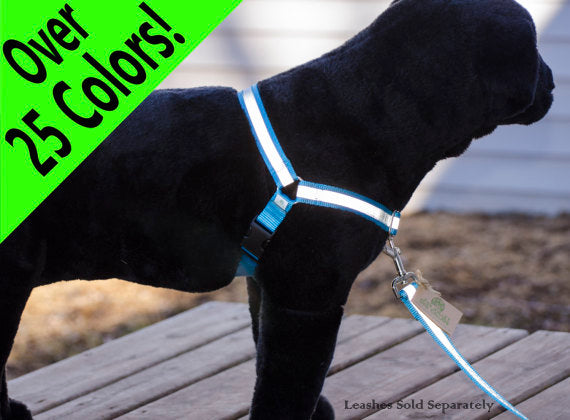 Reflective No-Pull Dog Harness - Fox Valley Dog Collars