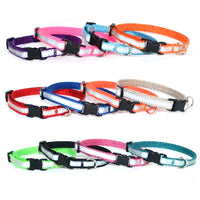 "Reflective 3/8"" Tiny Dog Collar - 12 colors - Fox Valley Dog Collars"