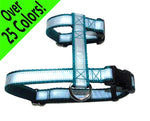 "Reflective ""Big Kitty"" / Giant Bunny / Cat H-Style Harness - Fox Valley Dog Collars"