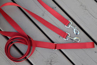 Dual Attach Leash With Sliding Handle - Fox Valley Dog Collars