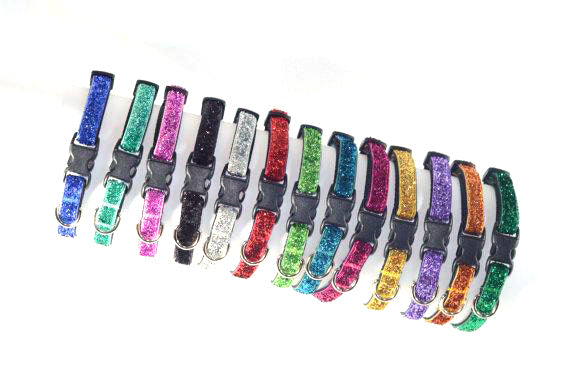 Sparkle & Bling Tiny Dog Collar - Fox Valley Dog Collars