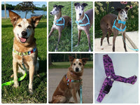 Choose-a-Fabric No Pull Harness - Fox Valley Dog Collars