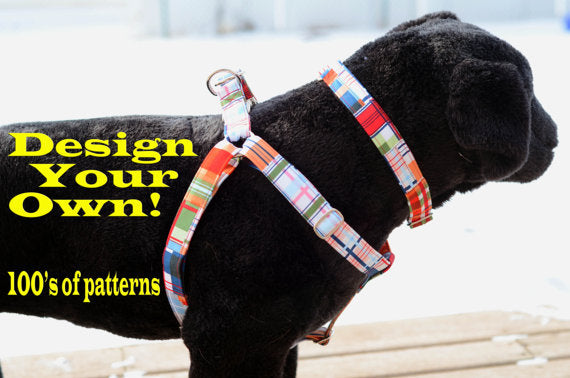 Choose-a-Fabric Step In Harness - Fox Valley Dog Collars