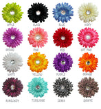 Flower Dog Collar Accessory - 16 colors - Fox Valley Dog Collars