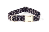 LAST ONE - Ninja Throwing Stars Adjustable Dog Collar