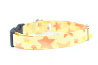 Shooting Stars Metallic Flecked Adjustable Dog Collar - Fox Valley Dog Collars