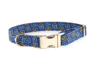 Sea Shells by the Seashore Adjustable Dog Collar