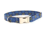 Sea Shells by the Seashore Adjustable Dog Collar - Fox Valley Dog Collars