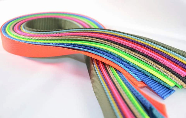 Heavy Duty Nylon Webbing - by the yard - Fox Valley Dog Collars