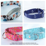 Choose-a-Fabric Martingale Dog Collar - Fox Valley Dog Collars