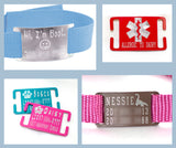 Jingle-Free Silent ID Tags - 14 colors! - Fox Valley Dog Collars