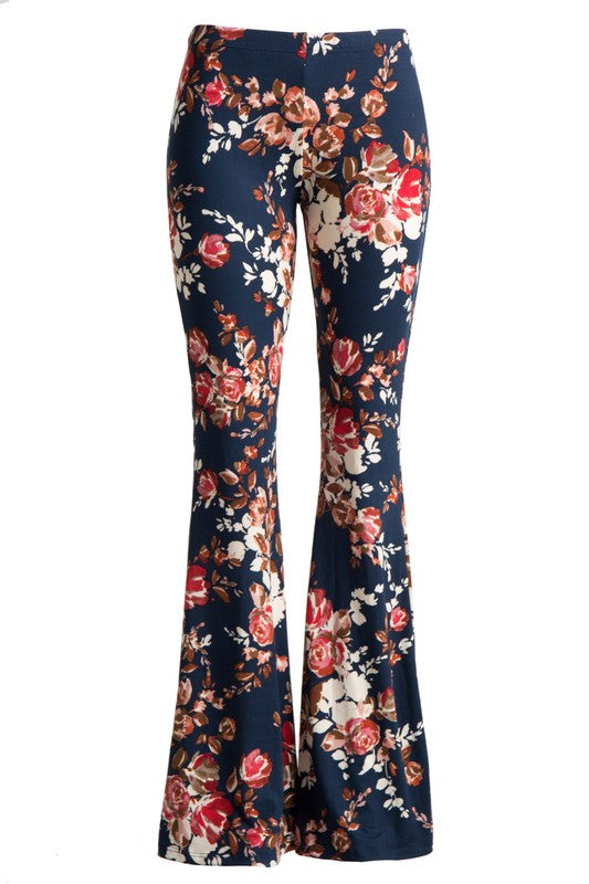 Floral Bell Bottoms