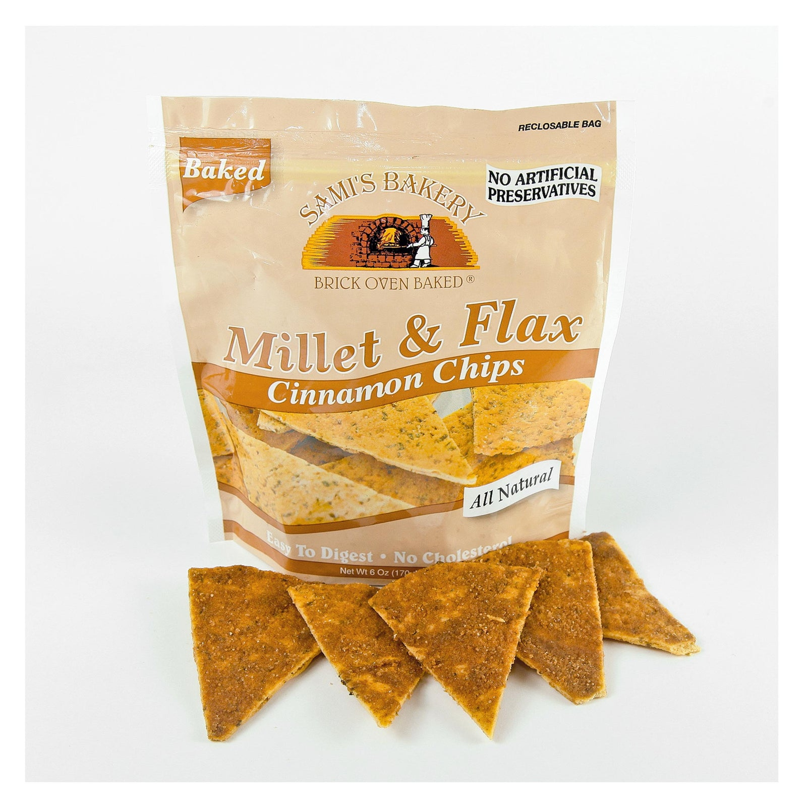 Millet & Flax Cinnamon Chips