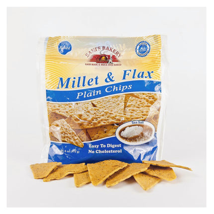Millet & Flax Plain Chips