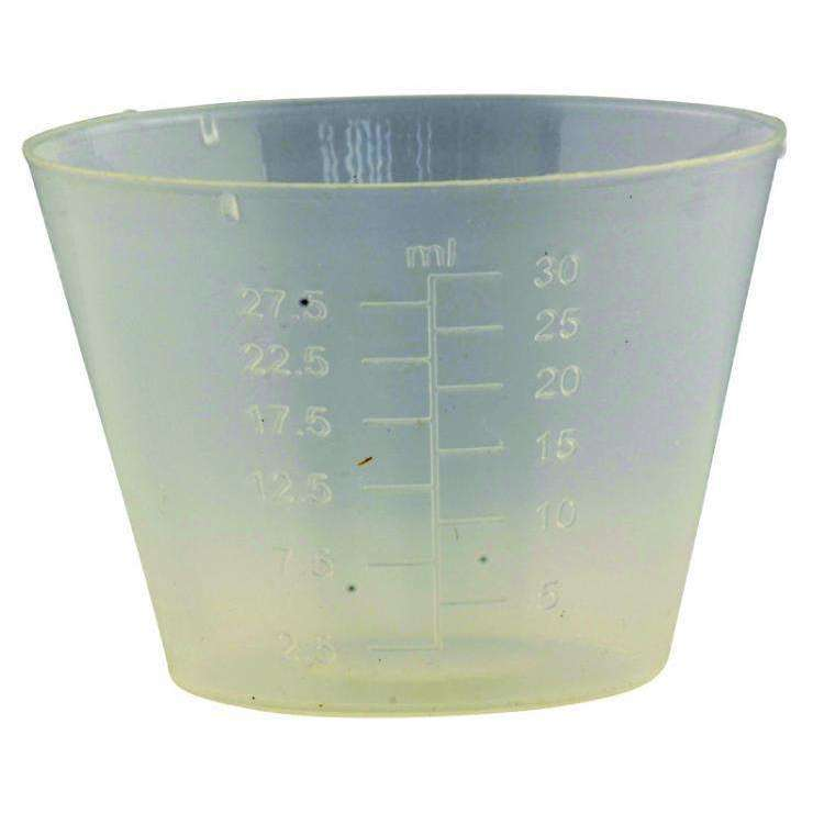 Exclusive Tackle:SCH PMC - Plastic 30 ml Cup
