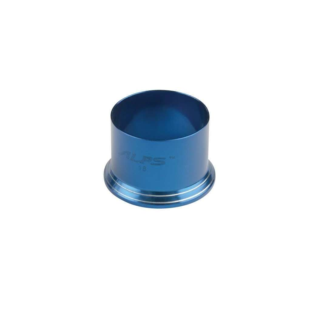 Exclusive Tackle:SR PR - ALPS Reel seat pipe extension,16 / Cobalt blue / Silver