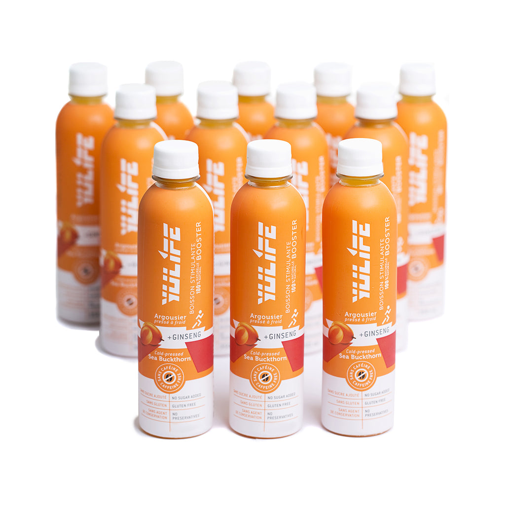 Yulife - Sea buckthorn : 12 pack