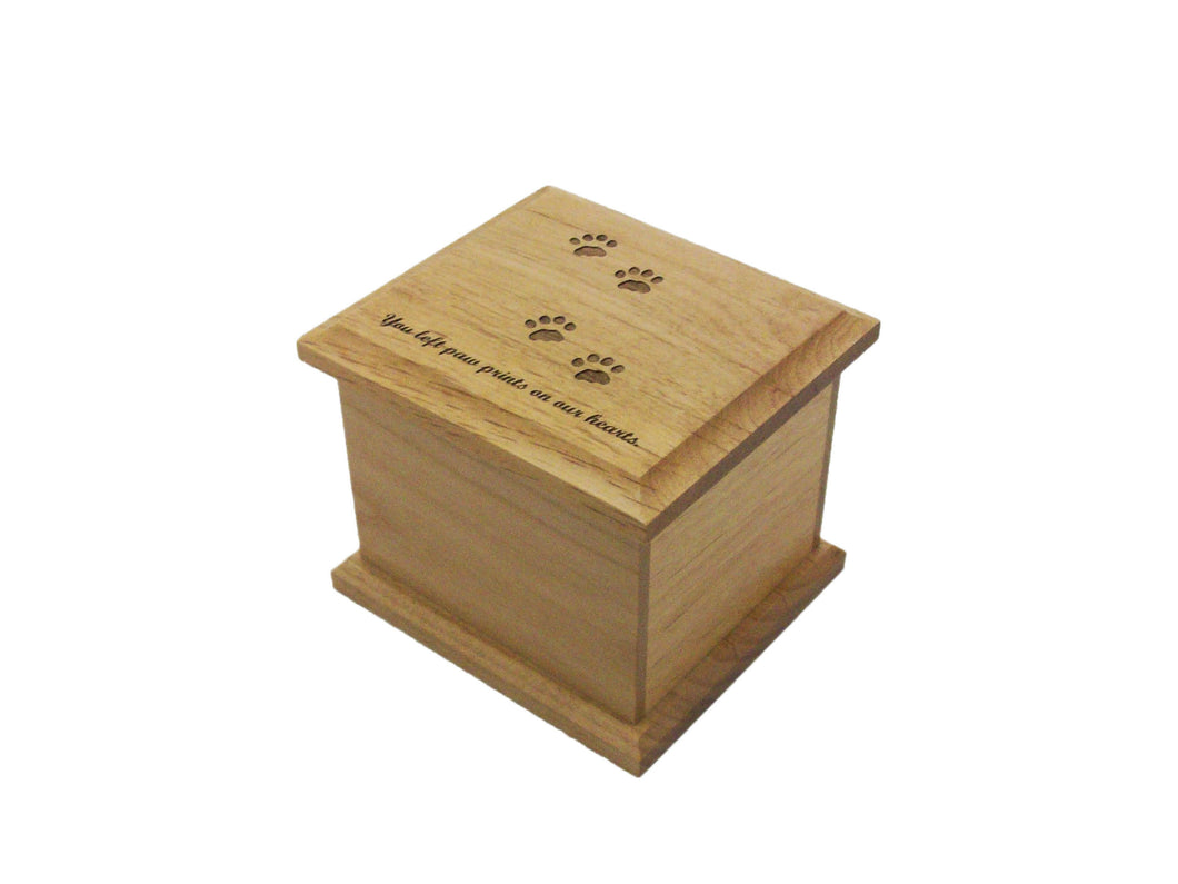 Alder Cat Prints Urn-Keepsake