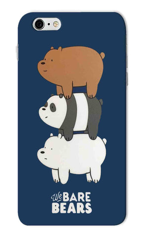 Iphone 6s Plus - We Bare Bears Cute Mobile Case