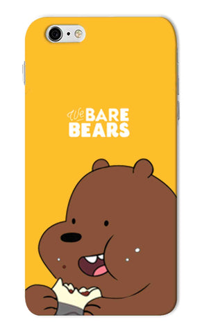 Iphone 6s Plus - We Bare Bears Mobile Case