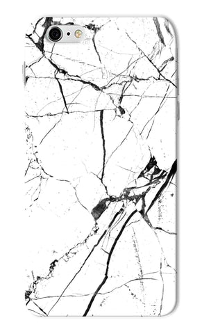 Iphone 6s Plus - White Marble Love Mobile Case