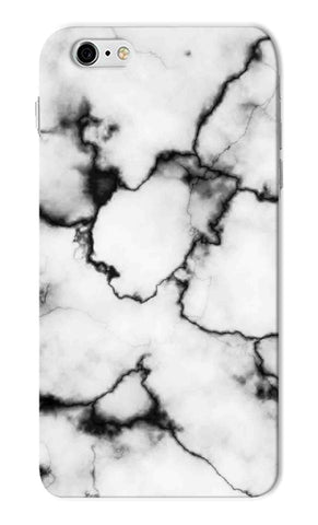 Iphone 6s Plus - White Thunder Marble Mobile Case