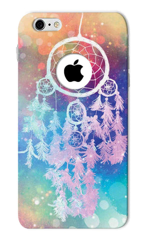 Iphone 6s Round Hole - Galaxy Dream Catcher Mobile Case