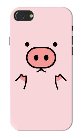 Iphone 7 - Cute Micro Pig Mobile Case